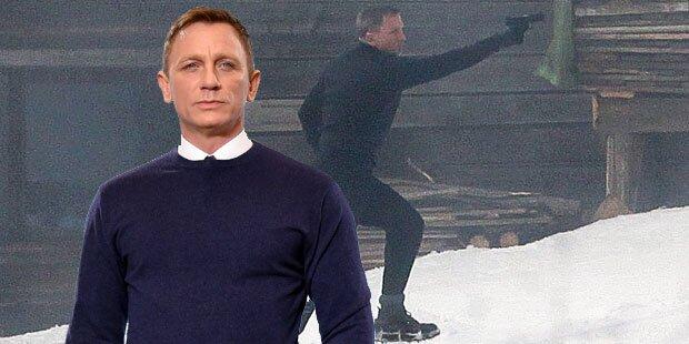 Bond: Craig noch immer außer Gefecht