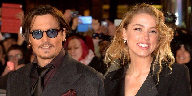 Depp & Heard: Hochzeit nächste Woche