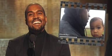 Kanye West: Video mit Tochter North