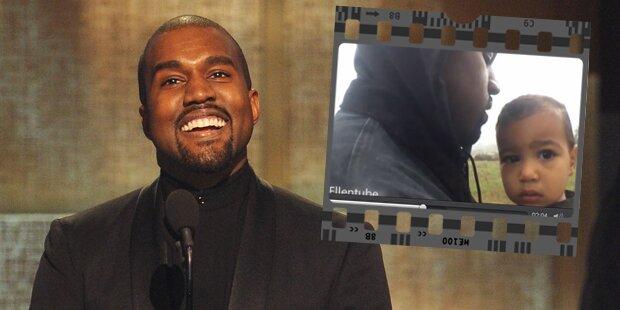 North ist Star in neuem Kanye-Video