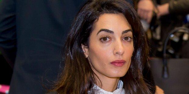 Amal Clooney, wird es dir zu viel?