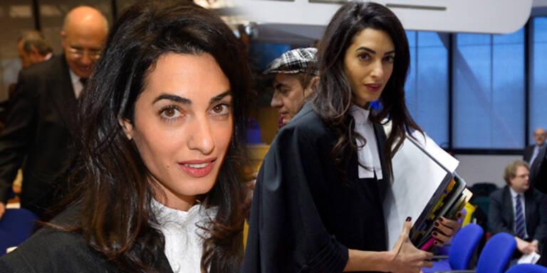 Amal: Coole Antwort auf Fashion-Frage