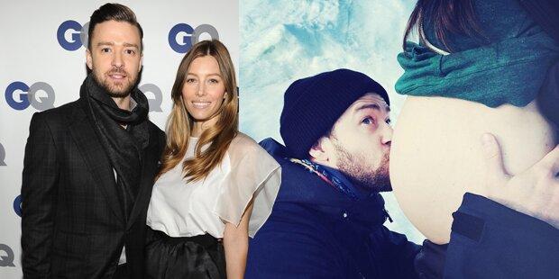 So süß bestätigt Justin Timberlake Babygerücht