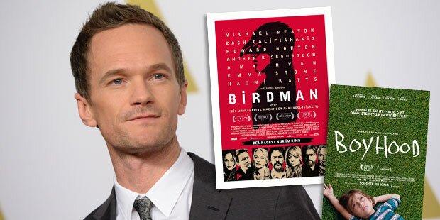 Birdmann & Boyhood gelten als Favoriten