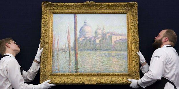 Monet für 31 Millionen versteigert