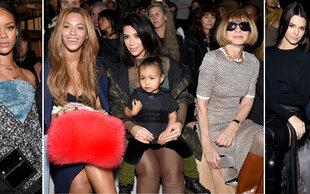 Front Row der New York Fashion Week: Zusammentreffen der mächtigsten Mode-Ikonen