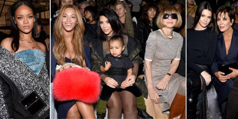 Zusammentreffen der mächtigsten Mode-Ikonen
