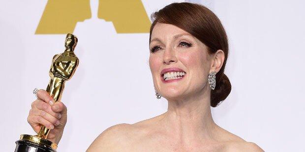 Julianne Moore jubelt über Oscar