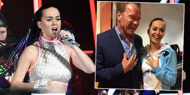 Katy Perry: Arnie für Konzert in Wien