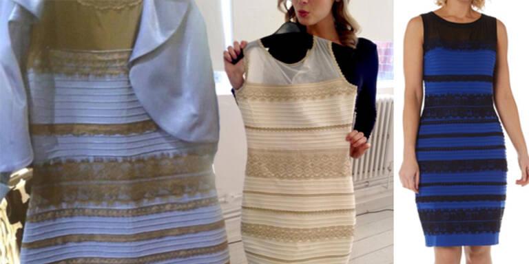 DAS Kleid gibt es nun auch in Weiß-Gold