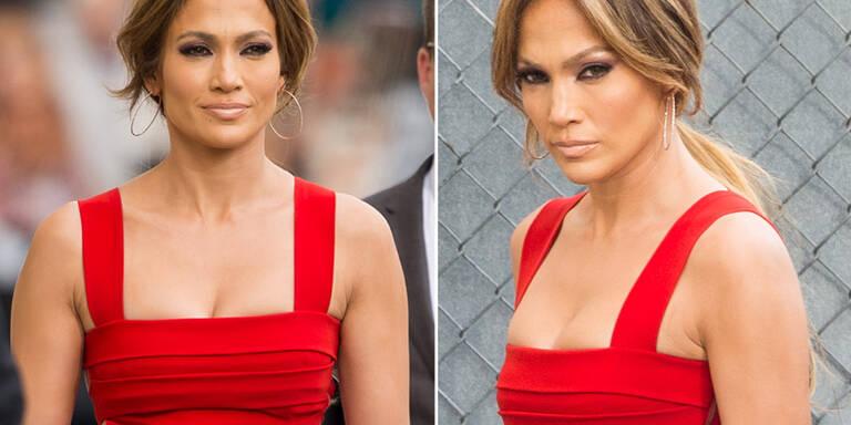 Jennifer Lopez in Topform