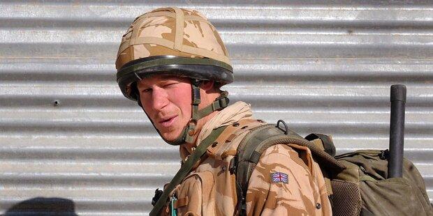 Prinz Harry verlässt die Armee