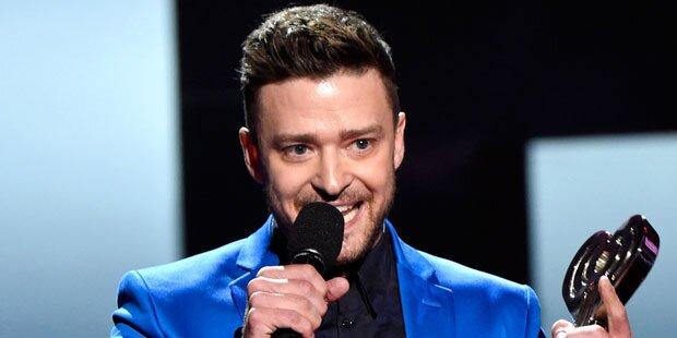 Timberlake: Süße Dankesrede