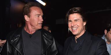 Zoff bei Arnie & Tom Cruise?