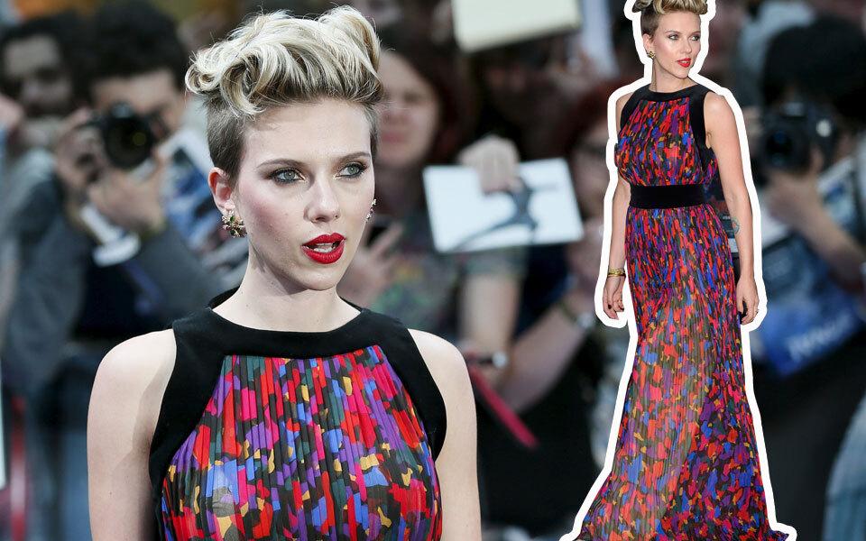 Scarlett Johansson: Superhelden-Style