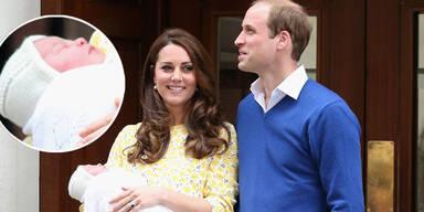 Das Royal Baby ist da: Kate bringt Mädchen zur Welt