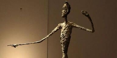 Der zeigende Mann von Alberto Giacometti
