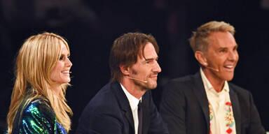 Heidi Klum, Thomas Hayo, Wolfgang Joop