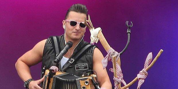 Gabalier bei MTV Unplugged