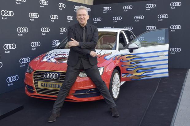 Jean-Paul Gaultier enthüllt den Life Ball-Audi