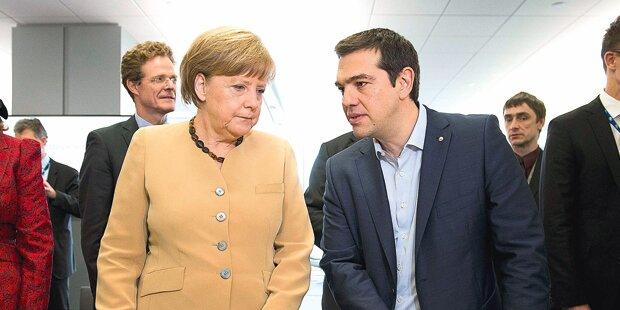 Griechen: Endlos-Gipfel in Brüssel
