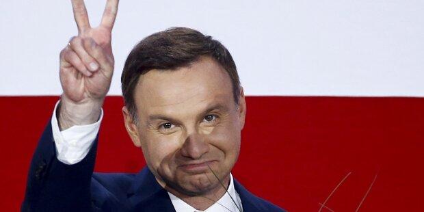 Polnischer Präsident kündigte Veto gegen umstrittene Justizreform an