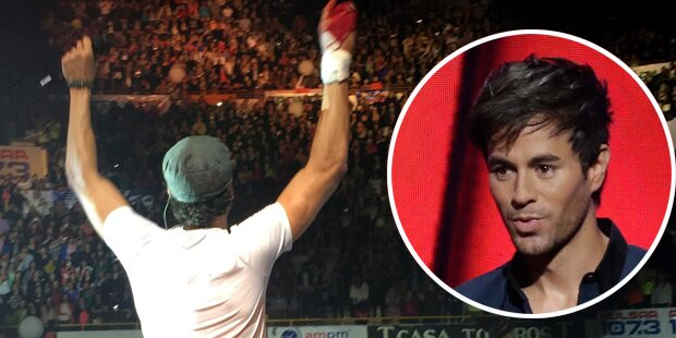 Iglesias: Blutiger Unfall auf Bühne