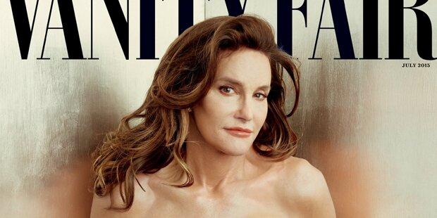 Bruce Jenner als Frau auf