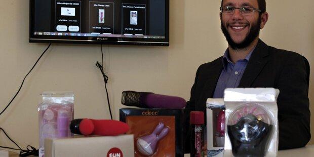 Rabbiner eröffnet koscheren Sexshop