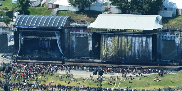 Rock in Vienna heuer mit drei Bühnen