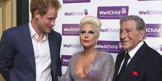 Aber Prinz Harry, wo schaust du denn hin?