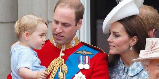Wo waren Kate und William?