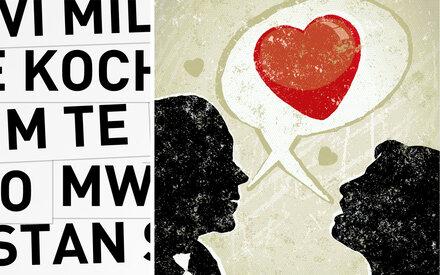 """""""Ich liebe Dich"""" auf 30 Sprachen"""
