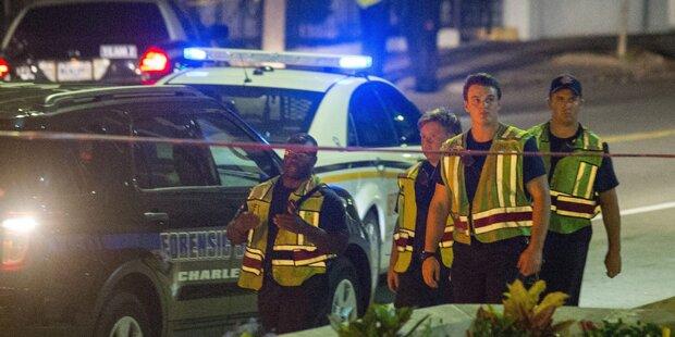 Mutmaßlicher Todesschütze zurück in Charleston