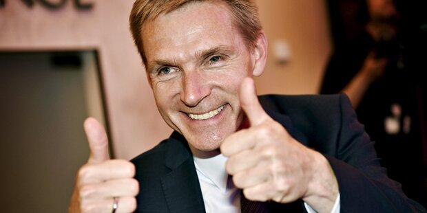 Dänemark: Rechtspopulist neue Nummer 1
