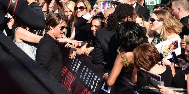 Tom Cruise: Weltpremiere in Wien
