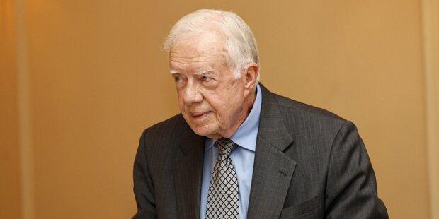 Jimmy Carter ist wieder krebsfrei