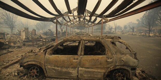 Über 700 Häuser bereits abgebrannt