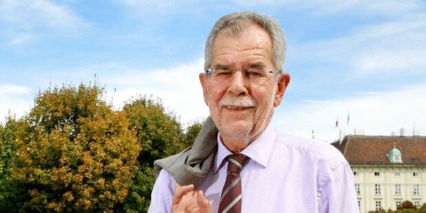 Hofburg: Van der Bellen hat geheiratet