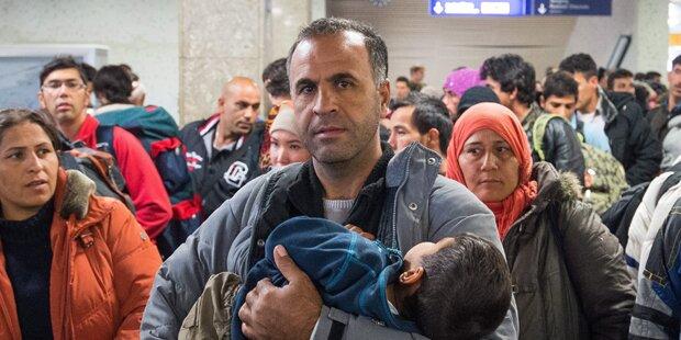 Schon 200.000 Flüchtlinge im Monat