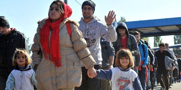 173.000 Flüchtlinge passierten Kroatien