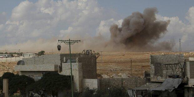 Über 30 Tote bei Luftangriffen in Aleppo