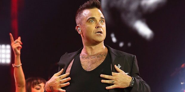 Robbie Williams flirtet mit 15-Jähriger