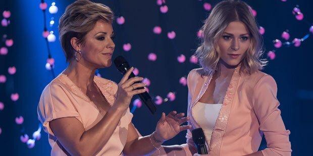 Michelle singt Duett mit Tochter Marie