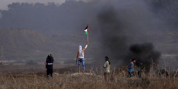 Palästinenser setzten heiliges Grab in Brand