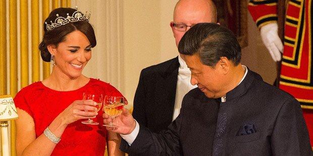 Das ist Herzogin Kates erstes Mal