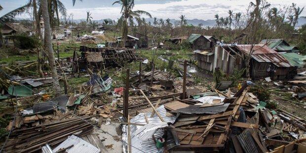 Taifun forderte schon 58 Todesopfer