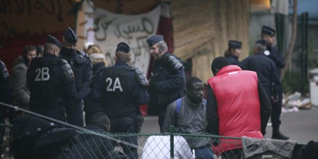 Flüchtlinge Frankreich