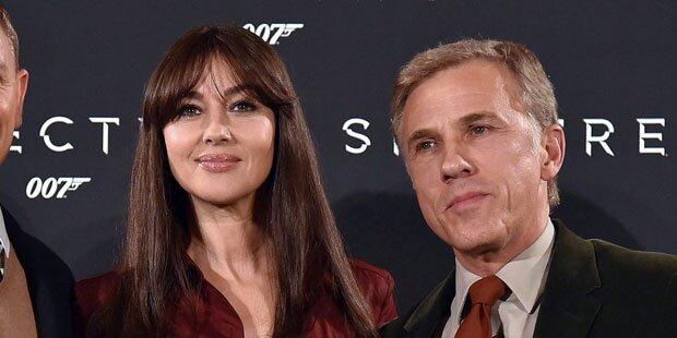 Waltz schwärmt von Bond-Lady Bellucci