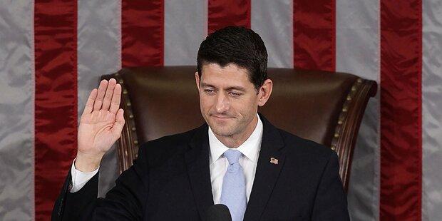 Paul Ryan neuer Chef des Repräsentantenhauses